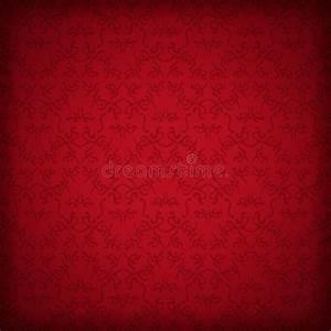 nahtlose rote tapete stock abbildung illustration von With markise balkon mit rote barock tapete