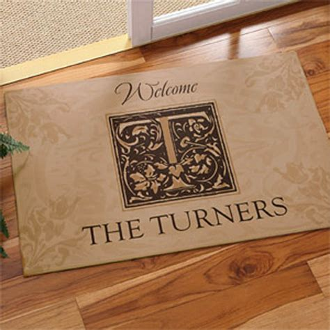 personalized door mats excellent gifts a