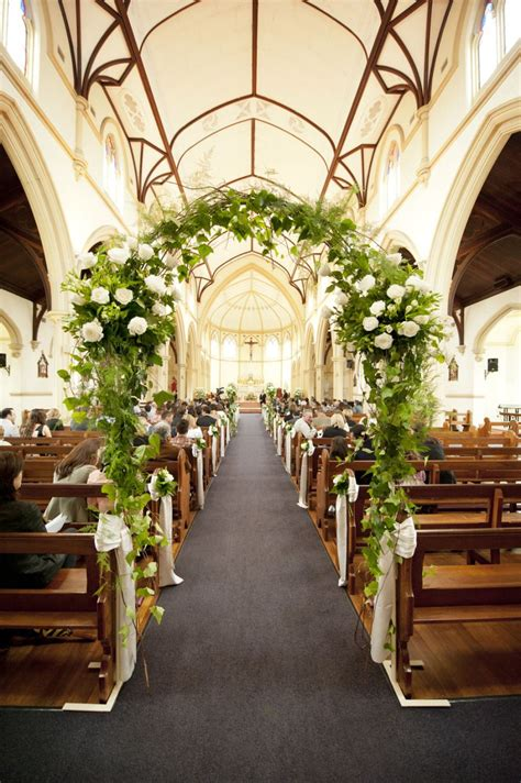 Traditional Perth Wedding Wedding Church Aisle Church