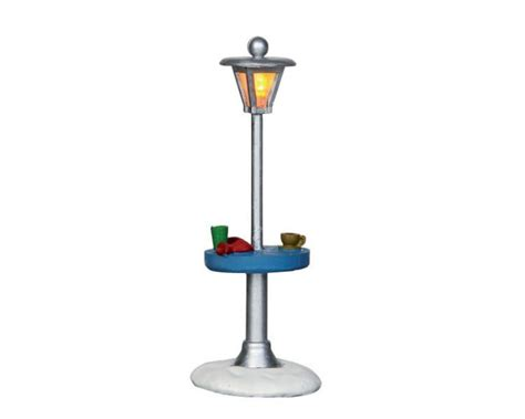 battery operated table l lemax village collection outdoor table heat l battery operated 34641