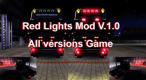 red light mod   ets  euro truck simulator  mods