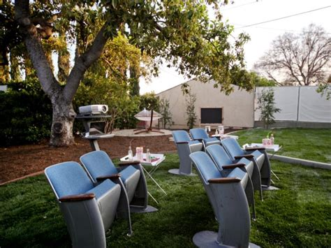 Backyard Home Theater by Brilliant Backyard Ideas Big And Small