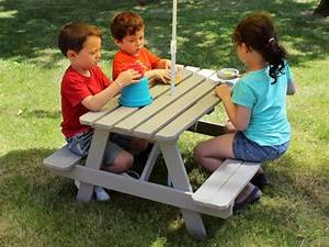 Table Enfant Bois : table pique nique enfant soulet ~ Teatrodelosmanantiales.com Idées de Décoration