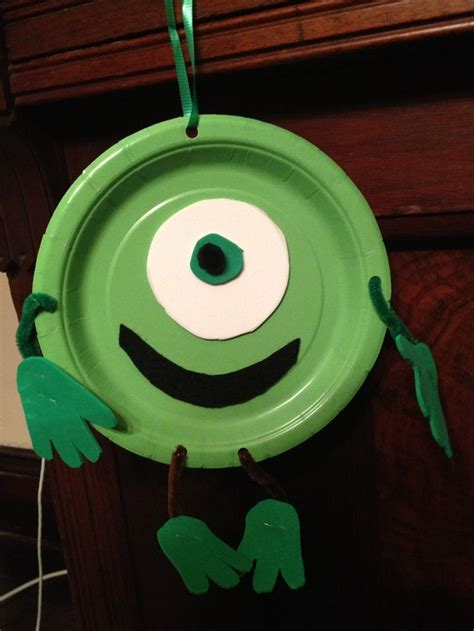 monsters   monsters university easy kid craft project