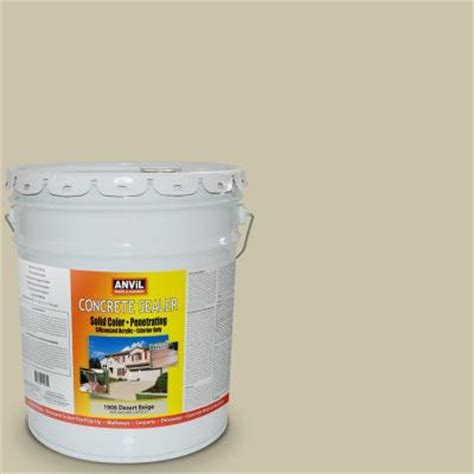 anvil 5 gal desert beige siliconized acrylic solid color
