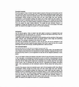 marketing communication plan template 10 free word With marketing communication plan template example