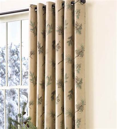 Grommet Insulated Pine Curtains Thermalogic Curtain Peaceful