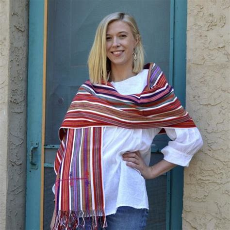 Mexican Textiles 101: What is a Mexican Rebozo? - Zinnia ...