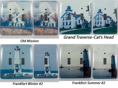 light switch cover lake michigan lighthouse design home
