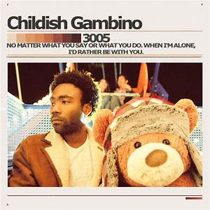 Childish Gambino 3005 Cover by MelBrooke on DeviantArt