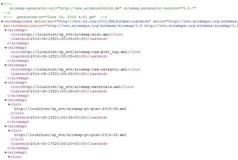 google xml sitemaps hubway web design byron bay