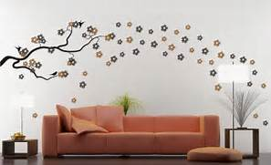 Work Silhouettes Around Your Furniture For A Look That Flows 20 DIY Painting Ideas For Wall Art Pretty Designs Wall Painting Designs Source Beautiful Homemade Diy Wall Painting Marker Painting Painting House Wall Art Designs Design Wall Painted