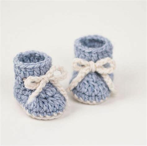 Simple Baby Bootie Crochet Pattern