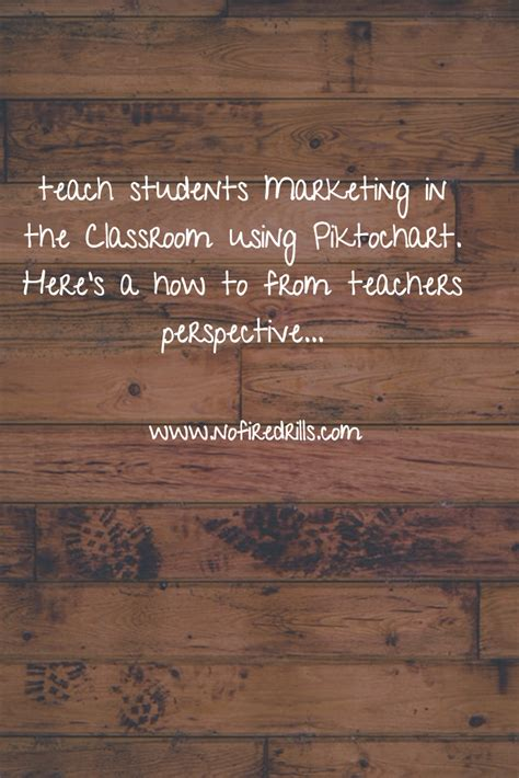 Marketing Via by Using Marketing In The Classroom Be Your Best