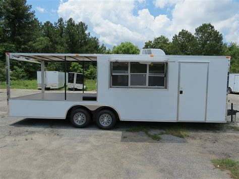 bbq trailer with porch concession trailers with porch studio design gallery