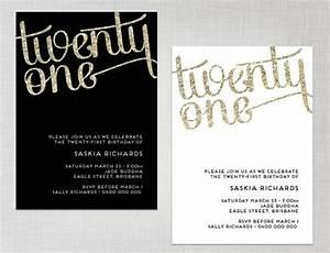 21st Birthday Invitations on Pinterest | 21st Invitations ...