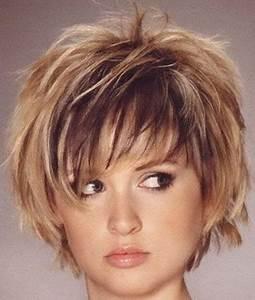 Coupe De Cheveux Pour Visage Rond Femme 50 Ans : modele de coiffure courte pour femme 50 ans coiffure ~ Melissatoandfro.com Idées de Décoration