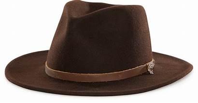 Jones Indiana Hat Clipart Henry Fedora Brown