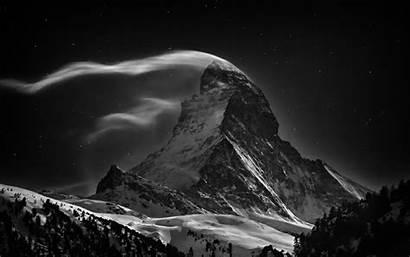 Abyss Wallpapers Iphone Mountain Matterhorn Night Di