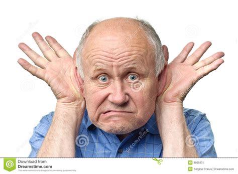 Funny Senior Man Stock Image. Image Of Gray, Humor, Eyes