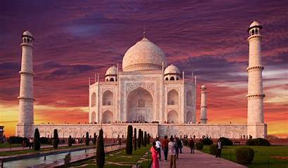 Mahal Taj Background Wallpapers Uttar Pradesh Wall