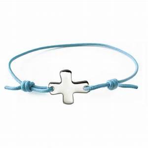 Bracelet Avec Elastique : bracelet lastique bleu avec croix comptoir religieux ~ Melissatoandfro.com Idées de Décoration