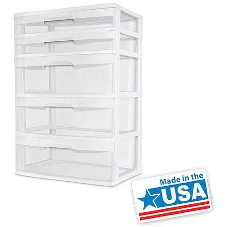 sterilite 5 drawer wide tower white sterilite 5 drawer wide tower white sterilite sterilite