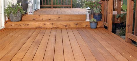 clean stain  seal  deck