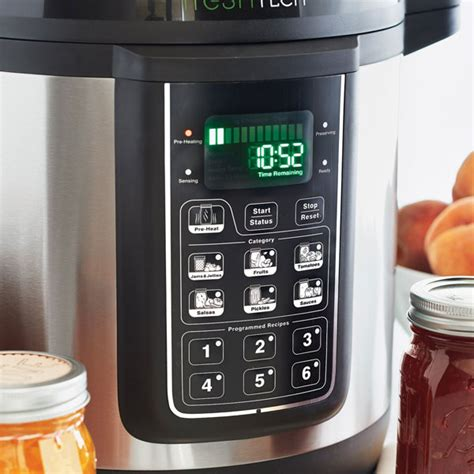 ball freshtech automatic home canning system cooking gizmos