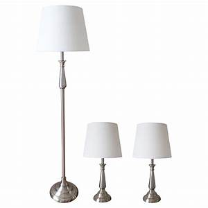 3 lamp set rona With floor lamp rona