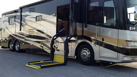 motorhome with a wheelchair lift nmeda special