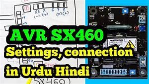 Avr Sx460 In Urdu  Hindi  Sx460 Connection Diagram  Sx460