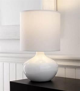 White, Bedroom, Lamps