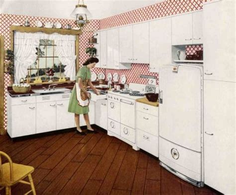 retro kitchen storage 1940s decorating style retro renovation 1945