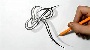 Letter R and Heart Combined - Tattoo Design Ideas for ...