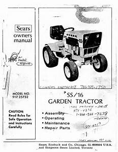 Sears Lawn Mower 917 25752 User Guide