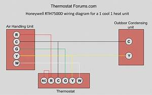 Duo Temp Thermostat 7 Wire Diagram