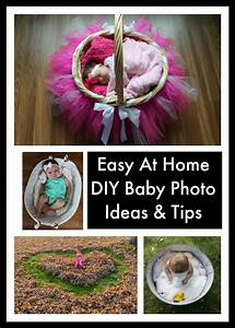 Easy At Home DIY Baby Photo Ideas & Tips | Emily Reviews