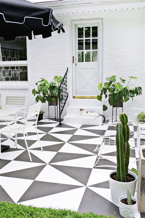 Painted Patio Tile Diy  A Beautiful Mess. Patio Furniture Plastic Webbing. L Shaped Patio Furniture Covers. Round Patio Table Canada. Ideas For Decorating A Patio. Hampton Bay Patio Furniture Bar Stools. Backyard Patio Furniture Arrangements. Patio Furniture On Sale At Home Depot. Macy's Holden Patio Furniture