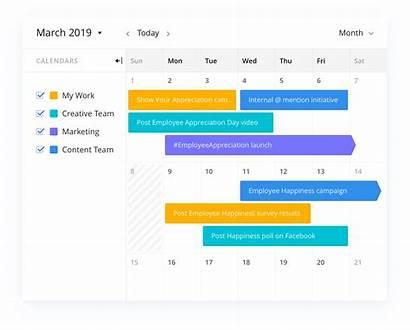 Social Template Plan Planning Calendar Marketing Editorial