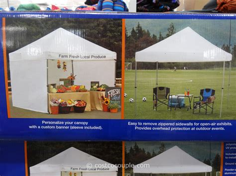 10x10 canopy costco instant canopy 10 x 10