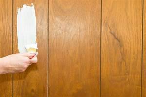 Holzpaneele mit Wandfarbe streichen Keine gute Idee?