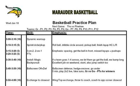 basketball practice planner template best photos of basketball plan template basketball team roster template basketball