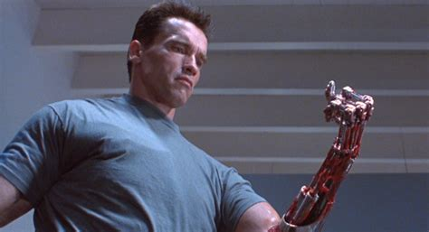 The Terminator 2 4k Blu-ray Comes With The Arm Of A