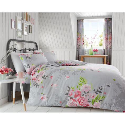 Bettwäsche Größen Ikea by Blumenmuster Kingsize Bettbezug Set Blumen