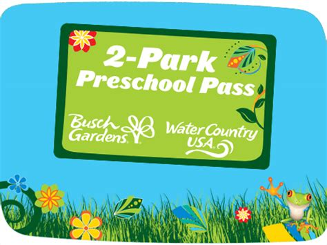 busch gardens pass preschool pass busch gardens williamsburg