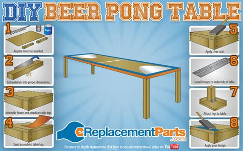 how to make a beer pong table diy beer pong table operation diy pinterest beer