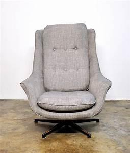 Select, Modern, Mid, Century, Swivel, Lounge, Chair