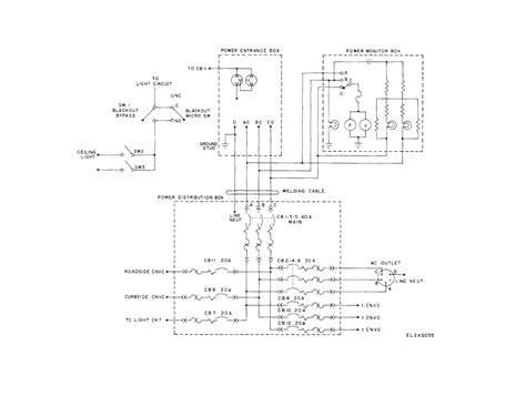electrical power distribution circuit diagram 45 wiring
