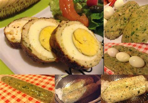 hache de cuisine chef de cuisine roulade de poulet haché au œufs